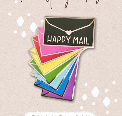 Enamel Pin- Happy Mail