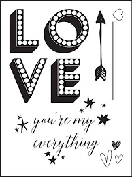 Love Clippings Clear Stamps  - By Prima