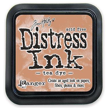 Ranger Distress Ink- Tea Dye