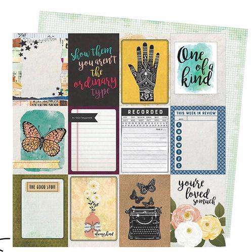 Storyteller- Storyteller Vicki Boutin 12x12 patterned paper