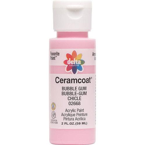 Bubble Gum Ceramcoat Paint