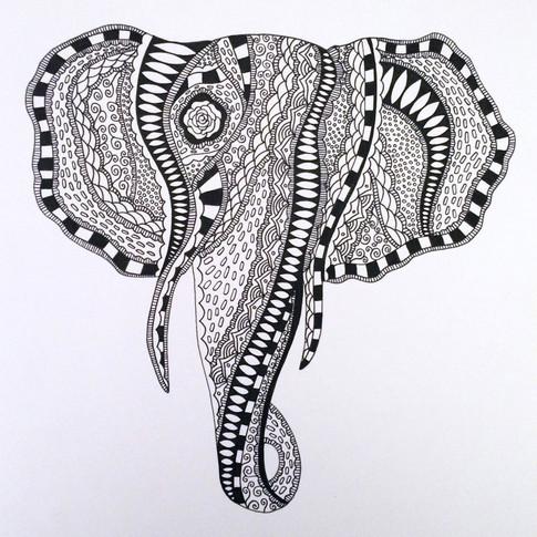 ROSE ELEPHANT