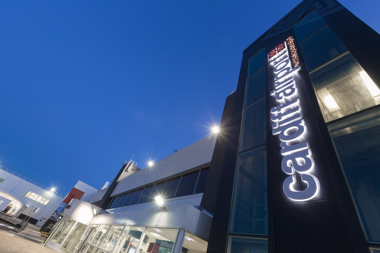 Cardiff Airport in profit for the first time in eight years