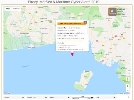 MDAT GoG - MV Attacked Calaba Nigeria - #piracy #marsec