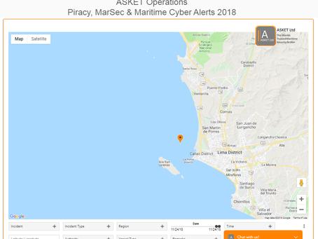 IMB ICC - Robbery - Callao Anchorage, Peru  @IMB_Piracy @IMOHQ #piracy #marsec