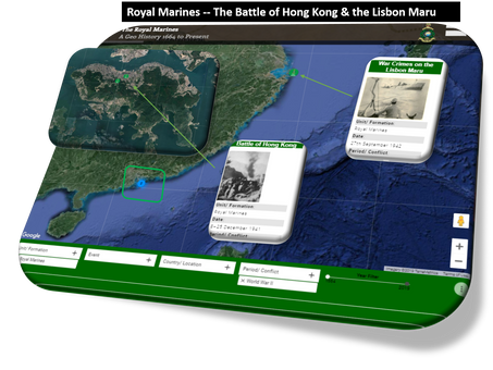 The Battle for Hong Kong and the Lisbon Maru Massacre - Royal Marines Roll of Honour
