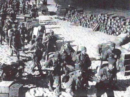 Operation Mercerised - Attack on Sarandë and Surrender of Corfu