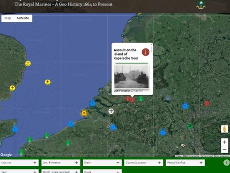 Assault on the island of Kapelsche Veer