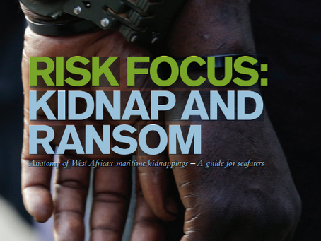UK P&I: Anatomy of West African Maritime Kidnappings – A guide for seafarers