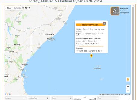 ReCAAP ISC Suspicious Vessels  #piracy #marsec @ReCAAPISC
