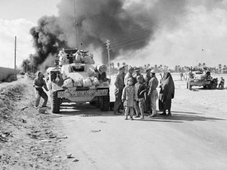 The British enter Benghazi20th November 1942