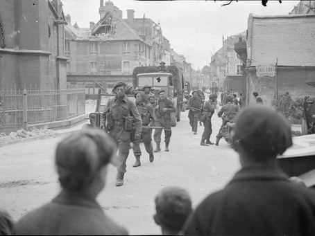 Formation of No. 46 (Royal Marine) Commando formed up in Dorchester August 1943
