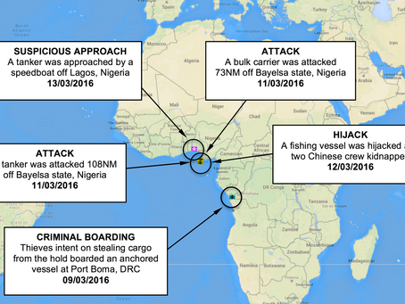 Weekly Maritime Security Update 40 - 10th - 17th March 2016