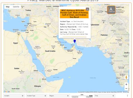 MSCIAdvisory - US Maritime Alerts - 2019-004-Persian Gulf, Strait of Hormuz, Gulf of Oman, and Arab