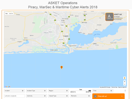 IMB ICC - Boarding with Hook and Rope - Lagos Anchorage, Nigeria. #marsec #piracy