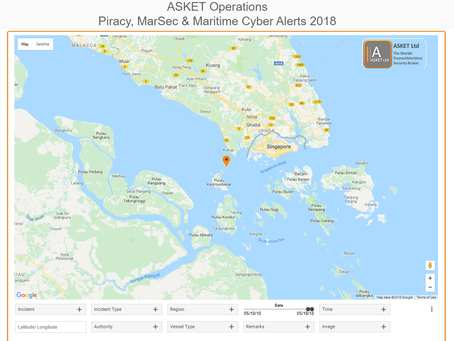IMB ICC - Attempted Robbery Underway - Pulau Karimun Kecil, Indonesia, IndonesiaI #marsec #piracy