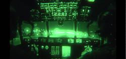 Breakfast at babs-C130 Cockpit