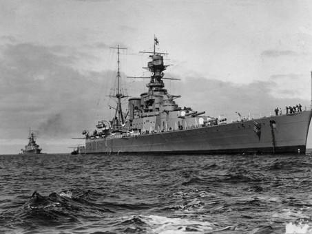Sinking of HMS Hood - Loss of 162 Royal Marines