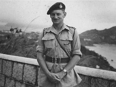 40 Cdo RM Dieppe 1942 - Major-General 'Titch' Houghton (1912 - 2011)