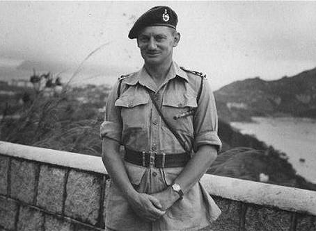 40 Cdo RM Dieppe 1942 - Major-General 'Titch' Houghton (1912 - 2011)