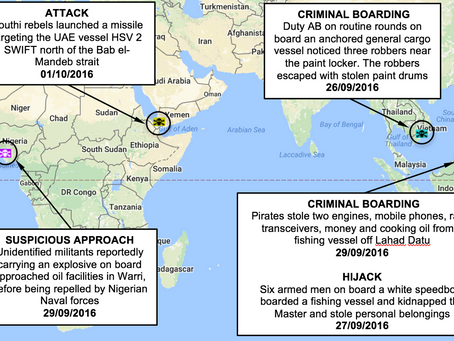 NYA Weekly Piracy and Armed Robbery Chart