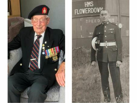 Jim Wren Royal Marines at 100