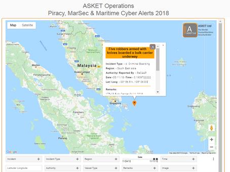 ReCAAP ISC - Armed Robbery Underway - Pulau Bintan, Indonesia
