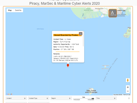 MDAT GoG - Vessel Boarded by Pirates #piracy