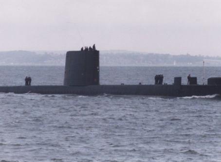 Submarine Canoe Insertion against the IRA