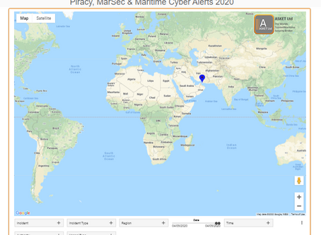 ASKET Piracy & Maritime Security Alerts - Last 7 Days