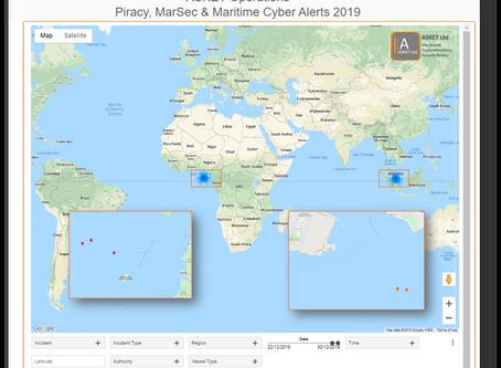 ASKET Piracy & Maritime Security Alerts - Last 7 Days #marsec #piracy