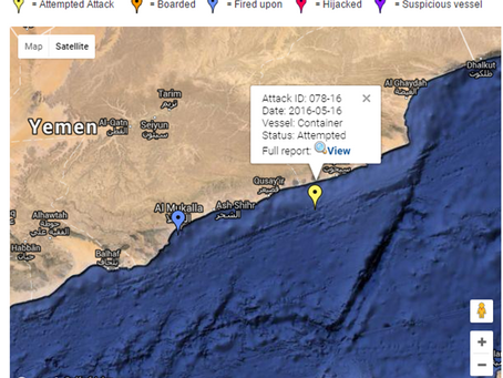 Attempted Approach Multiple Skiffs and Ladder Seen - Gulf of Aden
