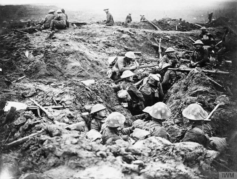Ypres-Breakfast at Babs-The_Battle_of_Passchendaele,_July-november_1917_Q5969