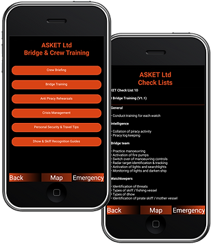 ASKET MarSec MAritime Security App - Bri