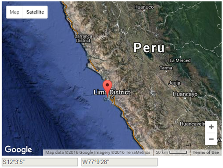 Robbers boarded an anchored bulk carrier, Peru