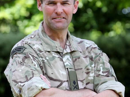 "Remembering Lieutenant Colonel Mark ""Foggy"" Phillips MBE"