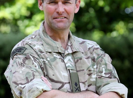 """Remembering Lieutenant Colonel Mark """"Foggy"""" Phillips MBE"""