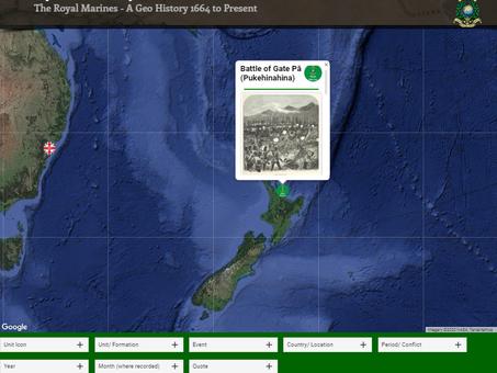Battle of Gate Pā (Pukehinahina) - New Zealand