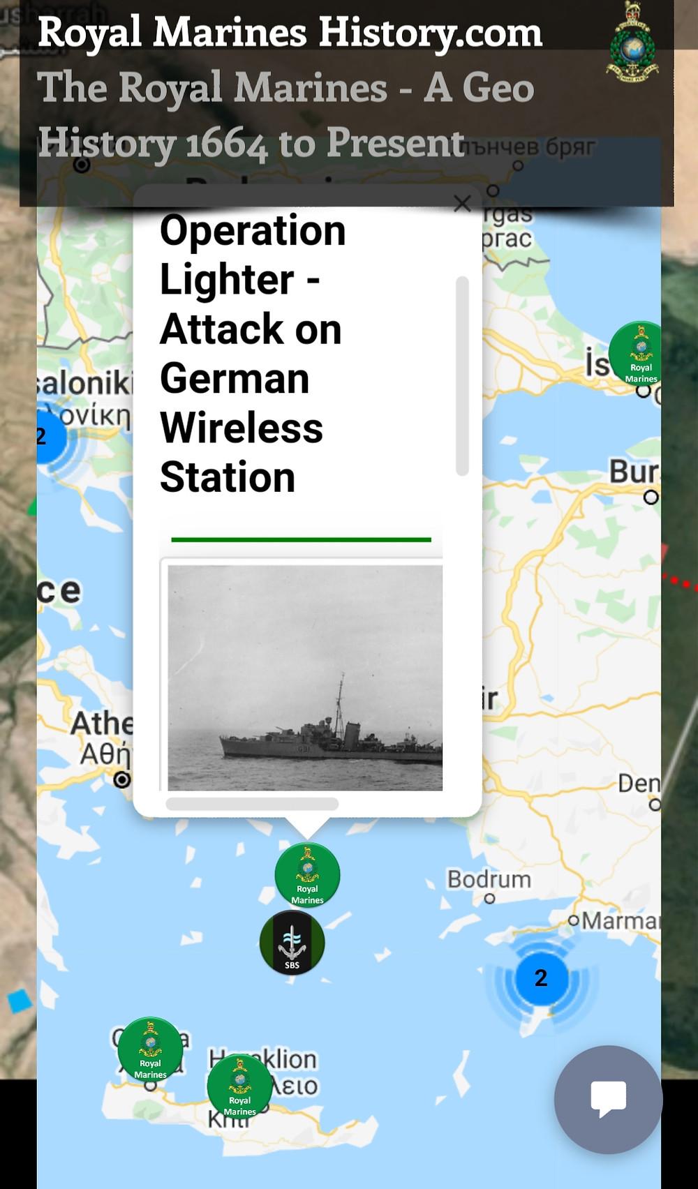 Royal Marines Operation Lighter