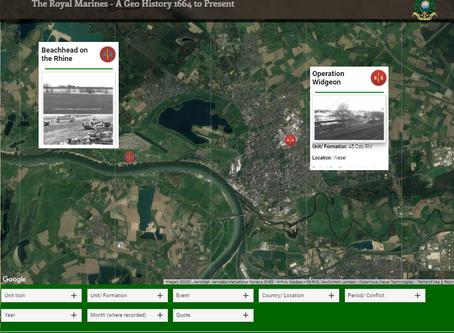 Operation Widgeon - 46 & 45 Cdo RM Crossing the Rhine