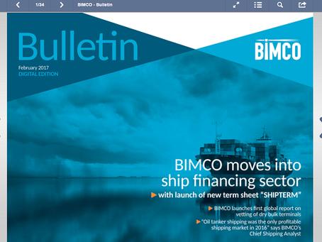 BIMCO Digital Bulletin @BIMCOnews #bimco #shipping