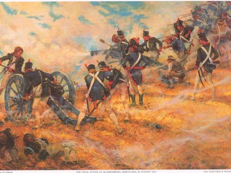 Battle of Bladensburg, Burning of Washington, USMC Commandant's House