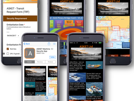 ASKET Updates our Free Maritime Security App update 23 out now! @ASKET_Broker @ASKETOperations #mars
