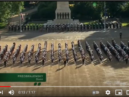 The Preobrazhensky March