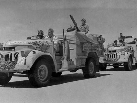 First attack by Long Range Desert Group 1st December 1940