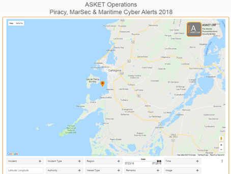 IMO GISIS Theft at Anchor - Mamonal Anchorage, Colombia  @IMOHQ #piracy #marsec