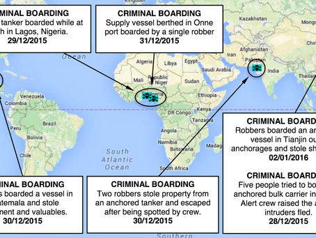 Weekly Maritime Security and Piracy News and Update Number 30, 7th January 2016