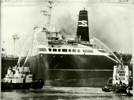 TheSpyrosdisaster - Singapore - 76 Souls lost, 96 injured #maritimehistory #OTD