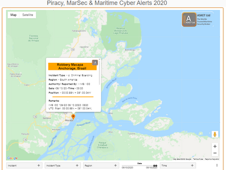 Robbery Macapa Anchorage, Brazil