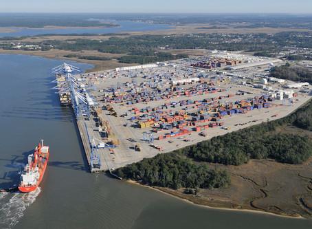 "Charleston's Wando terminal - Possible ""dirty bomb"" on docked ship prompts evacuation of termina"